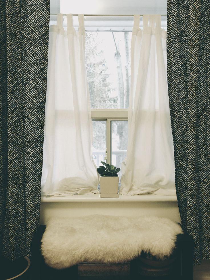 schlafzimmer vorhang design deko raumgestaltung ideen farbe | masion ...