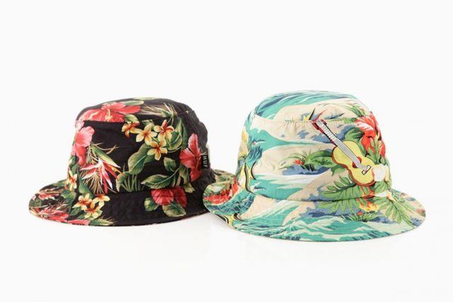 HUF Summer 2013 Hawaiian Hats