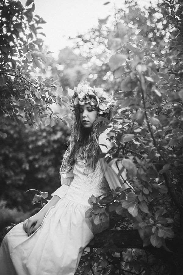 forest nymph photography