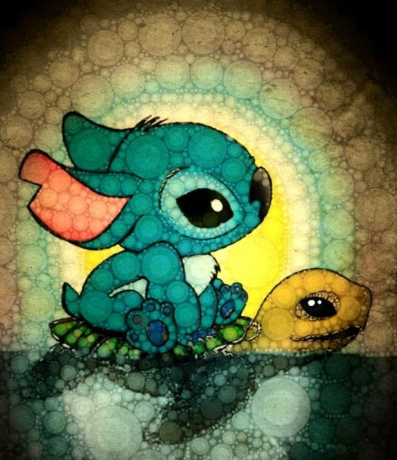 Stich: favorite Disney character