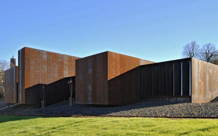 Soulages museum . Rodez . France