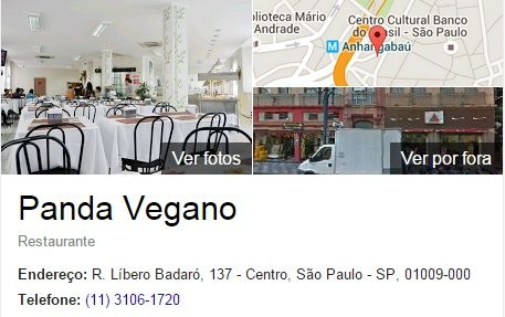 Restaurante Vegano SP