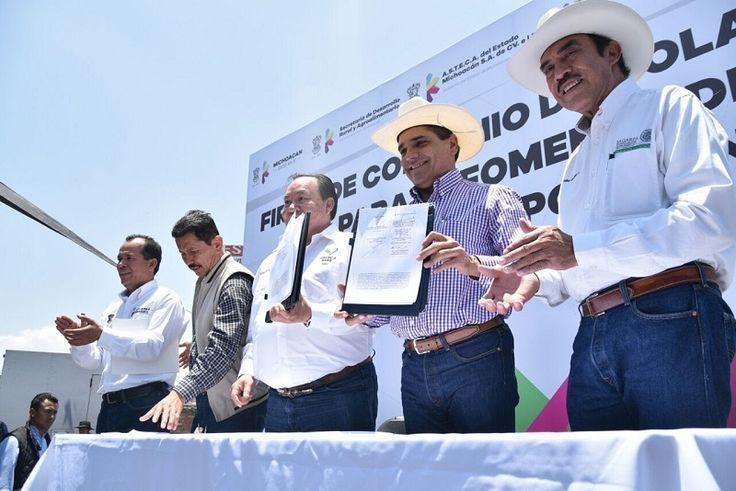 Estado y Federación invierten 45 mdp para asegurar el precio de 200 mil toneladas de maíz y 25 mil de trigo, destaca Rubén Medina Niño, director general de Almacenes, Servicios ...