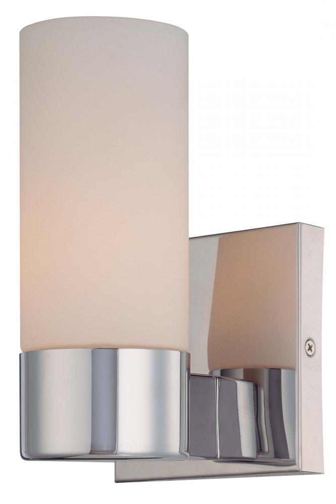 Chrome Bathroom Sconces Home Design Ideas Beauteous Chrome Bathroom Sconces