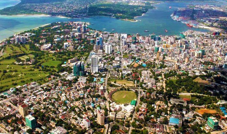 Dar es Salaam, Tanzania | Aerial View