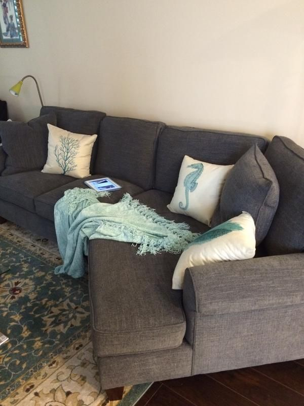 Corey Sectional Havertys The New Place Pinterest