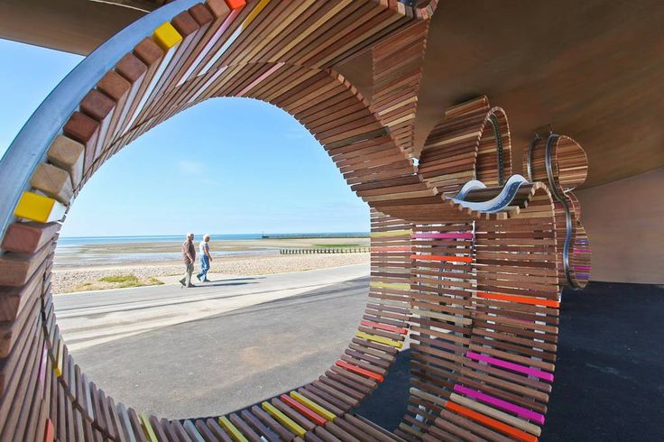 <p>The longest bench in Britain was opened to the public in Littlehampton, West Sussex on 30th July 2010. The bench seats over 300 people along Littlehampton's promenade, overlooking the town's award-winning Blue Flag beach.</p>