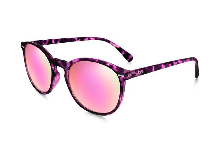Occhiali da sole polarizzati:  FLASH / PINK TORTOISE di Slash Sunglasses http://www.slashsunglasses.com/shop/flash/flash-tartaruga-rosa-rosa.html