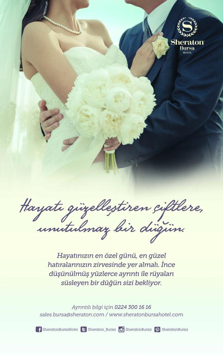Hayatı güzelleştiren çiftlere unutulmaz bir düğün Sheraton Bursa'da.. .   A wedding in Sheraton Bursa to the couples who makes life more beautiful..   #sheratonbursa #betterwhenshared #wedding #düğün