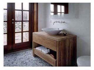 handmade oak bathroom furniture