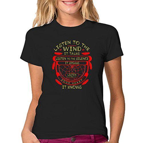 Listen To The Wind It Talks T-Shirt - Color Black XL Mort…