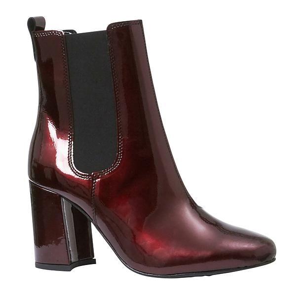 #boots #enkellaars #red #lakleer #shiny #Wehkamp #shoes #fashion