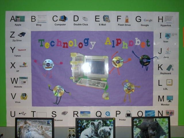 Computer Classroom Decoration Ideas ~ Ideas about computer bulletin boards on pinterest