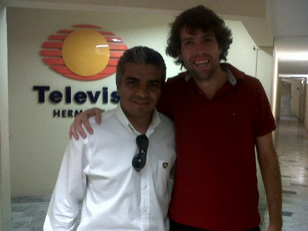 Con Lic. Jorge Alcantara (Dir. Gral de CRIT Sonora) 16/8/12 buena vibra!!!