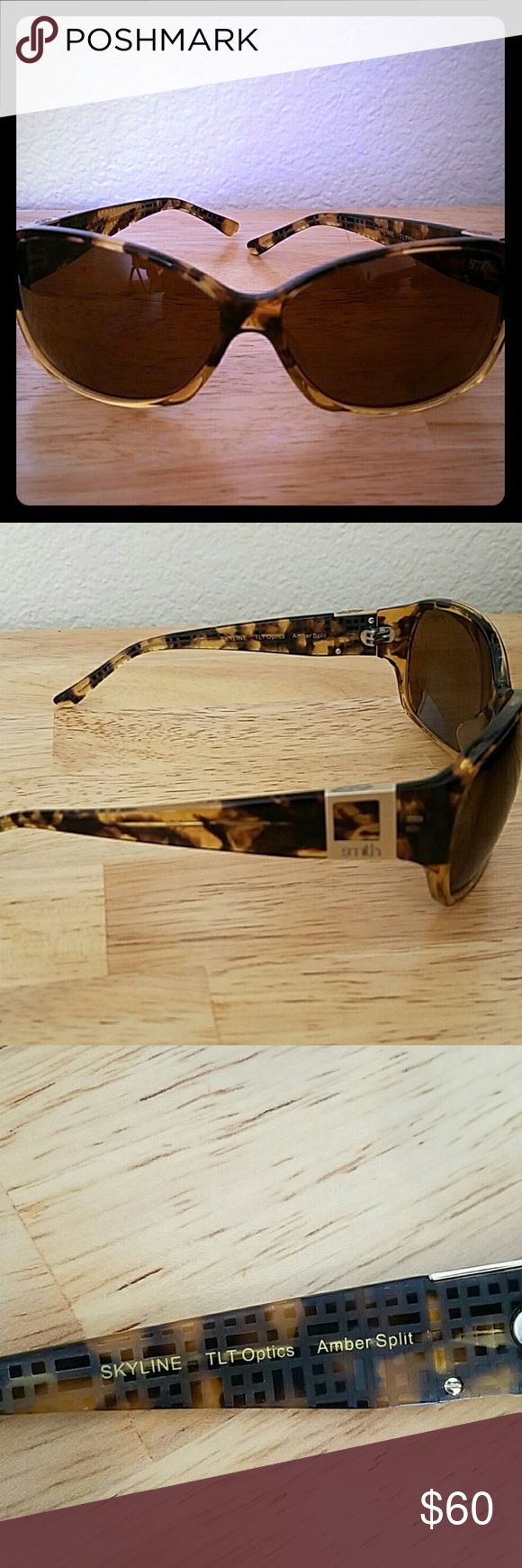Smith Skyline Woman Polarized Sunglasses Polarized Smith Sunglasses in tortoise shell. Excelente Condition, no scratches no flaws Smith Optics Accessories Sunglasses