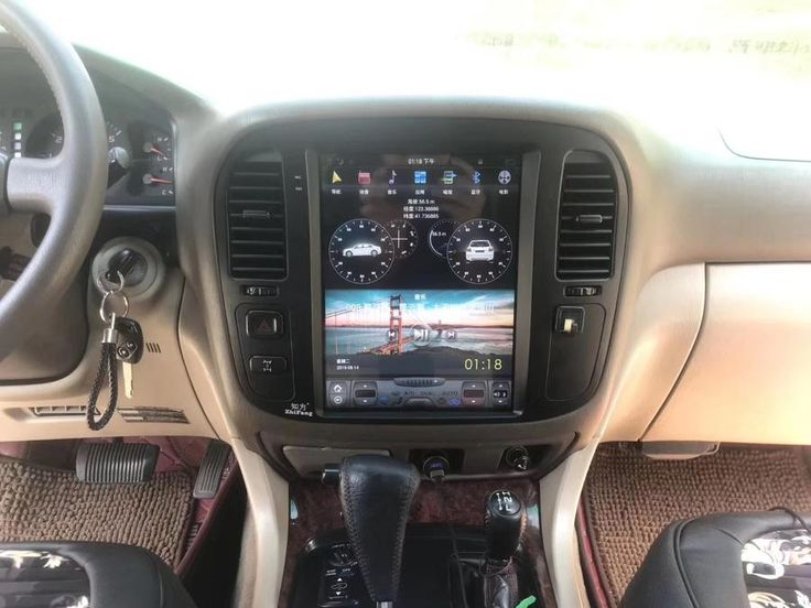 Toyota Land Cruiser LC100 1998 2002 12.1 in 2020