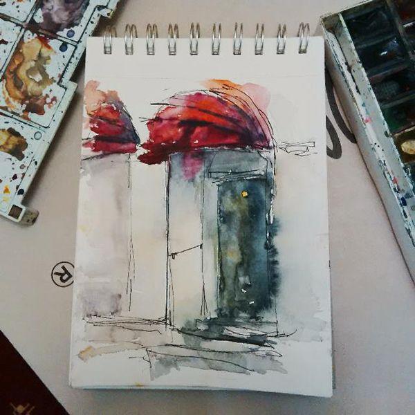 My sketchbook 2015 on Behance