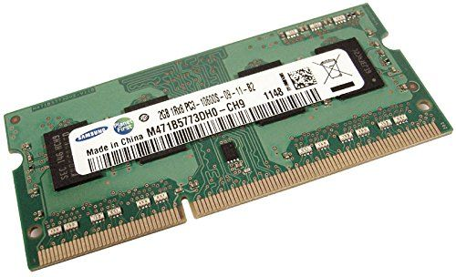 Buy M471B5773DH0-CH9 SAMSUNG 2GB DDR3 1333MHZ PC3-10600 204-PIN CL9 SINGLE RANK NON-ECC UNBUFFERED SODIMM MEMORY USED for 2.98 USD | Reusell