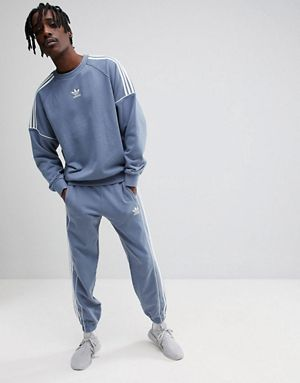 ccdc054b36fe adidas Originals Nova Tracksuit in Grey
