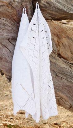 Strik de fineste gæstehåndklæder   Femina