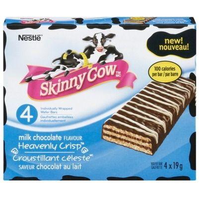 Skinny Cow Heavenly Crisp Milk Chocolate bars