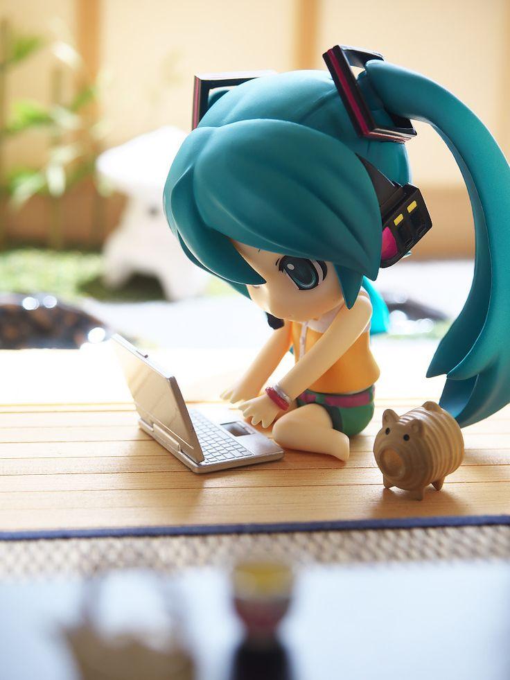 Afternoon of summer day | Tokyo Otaku Mode #nendoroid #miku #vocaloid
