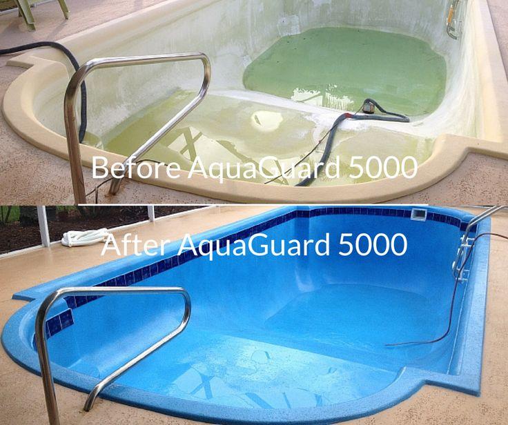 61 Best Pool Repair Before After Images On Pinterest Fiberglass Pools Fiberglass Swimming