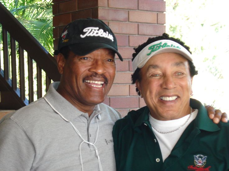 Bishop Charles E. Blake and Smokey Robinson. Save Africa's Children Golf Tournament