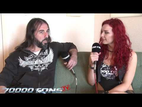 Musician Monday with ROTTING CHRIST on 70000tons.tv - YouTube