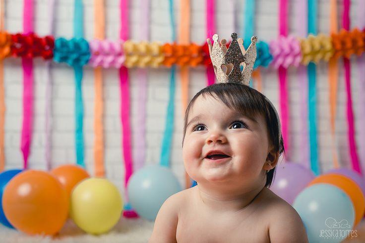 MARIA CUMPLE 1 AÑO· Fotografía infantil de bebés en El Ejido Almería