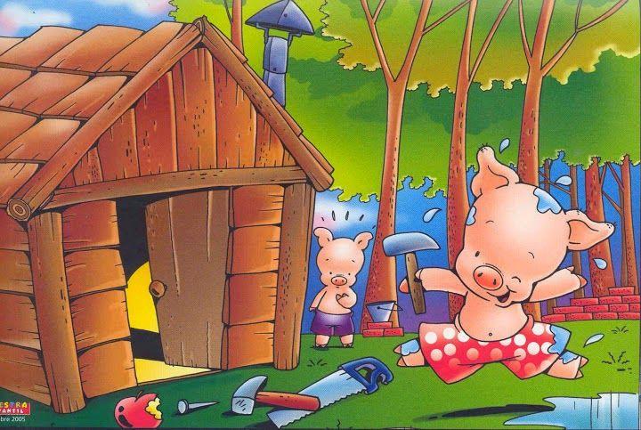 Cuentos Infantiles Los Tres Cerditos Cuento Ilustrado Cuento Tres Cerditos Los Tres Cerditos Cerditos