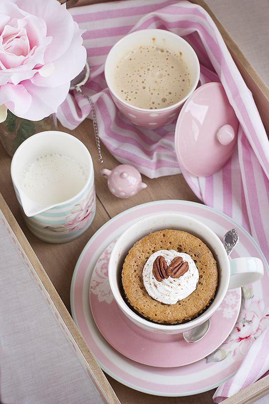 Mug cake de Zanahoria - Megasilvita