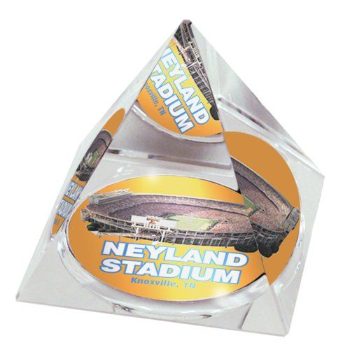 NCAA Tennessee University Volunteers Neyland stadium in 2' Crystal Pyramid with Colored Windowed Gift Box * Check this awesome product by going to the link at the image.