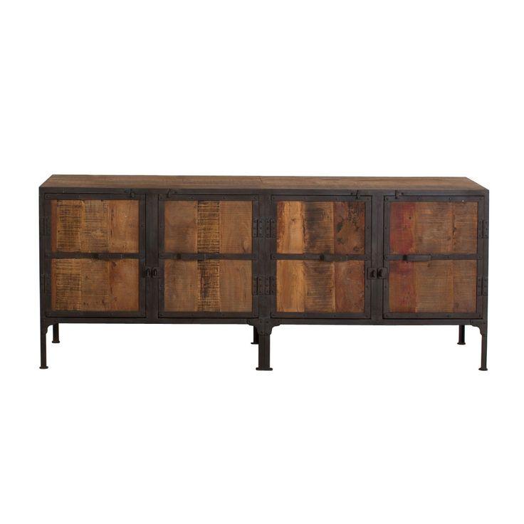 Claiborne Reclaimed Wood Console | dotandbo.com
