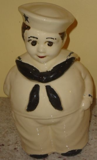 /vintage-shawnee-sailor-boy-cookie-jar- Displayed in my ...