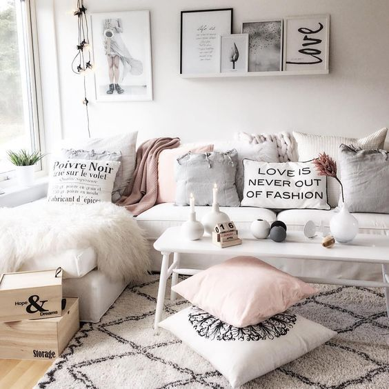 Feminine Cozy Living Room Style G O A L S Part 88