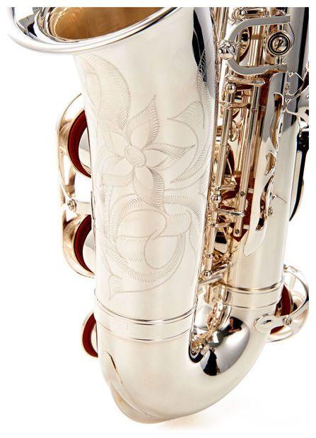 Yamaha YAS-480S alto saxophone, hand engraved body and keys #yamaha #saxophone #thomann