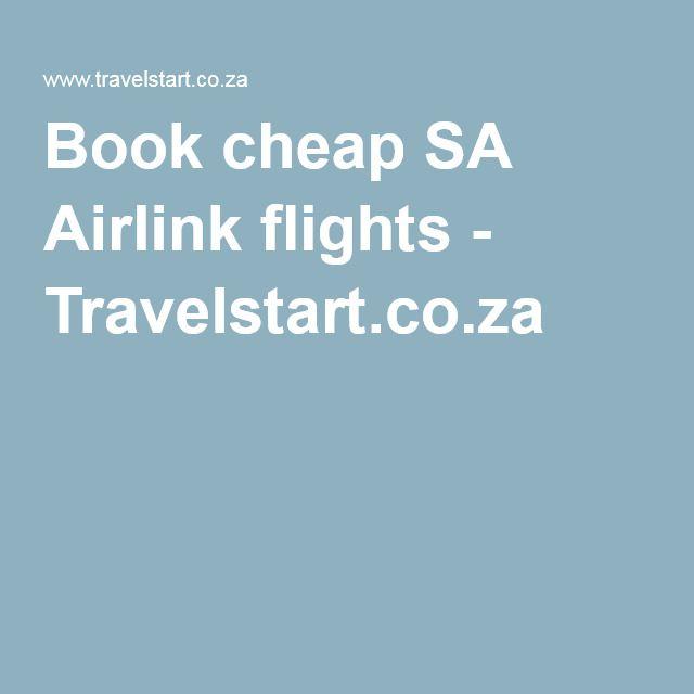 Book cheap SA Airlink flights - Travelstart.co.za