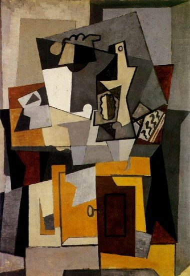 """Pablo Picasso - """"Still life with a key"""". 1920"""