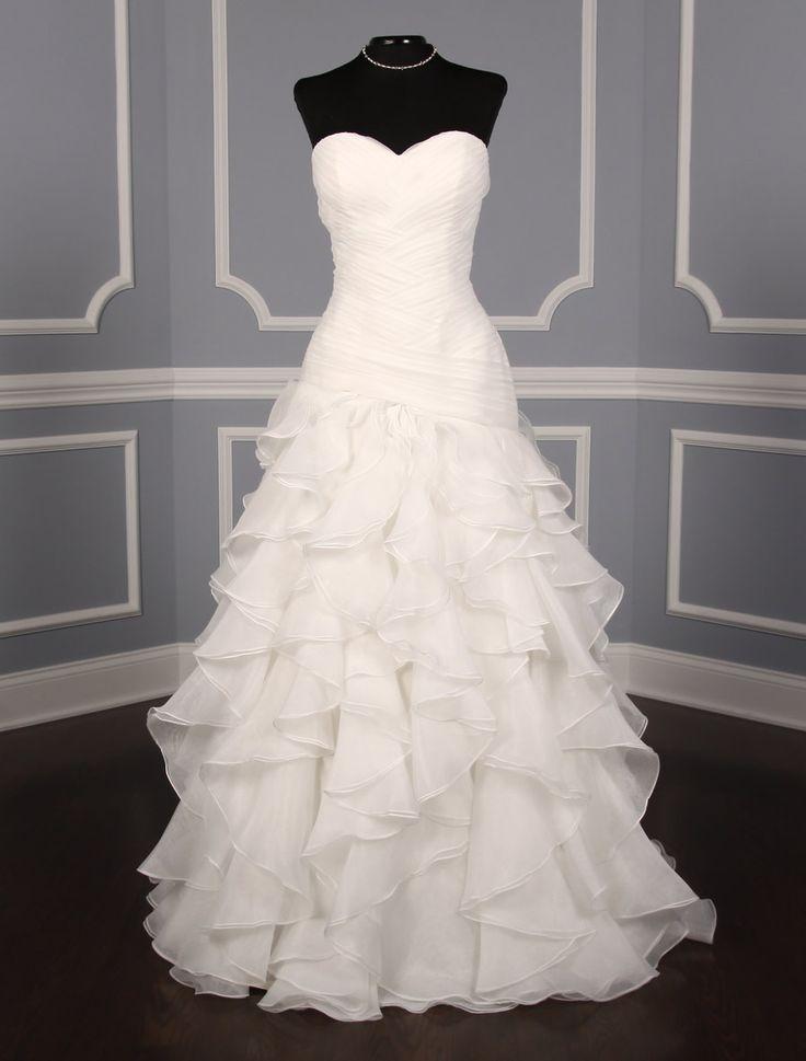 Best 25 drop waist wedding dress ideas on pinterest for Drop sleeve wedding dress