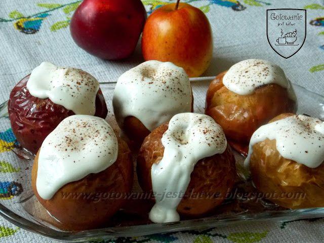 Gotowanie jest łatwe: Pieczone jabłuszka