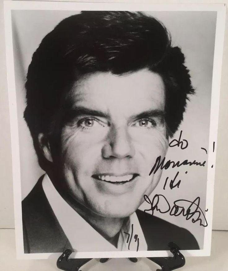 John davidson vintage signed autographed 8x10 bw photo