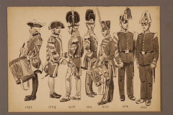 Musicians for Svea Lifeguard 1765-1883 by Einar von Strokirch