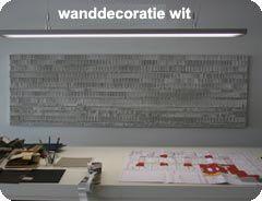 wanddecoratie van karton