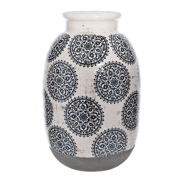 Kirkland S Black And White Vase Blue And White Vase Living