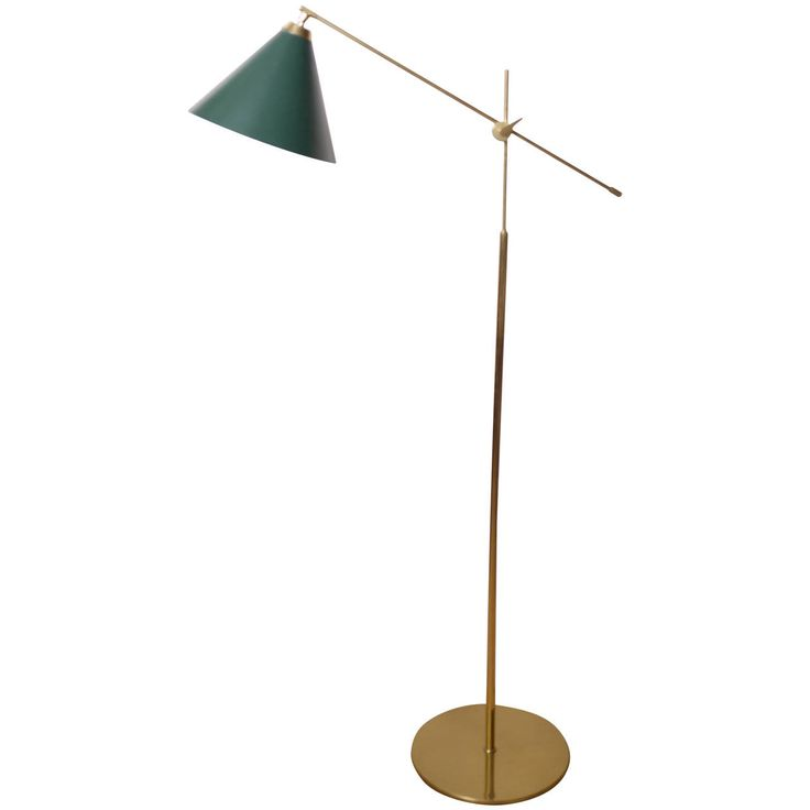 Scandinavian Floor Lamp | From a unique collection of antique and modern floor lamps  at https://www.1stdibs.com/furniture/lighting/floor-lamps/