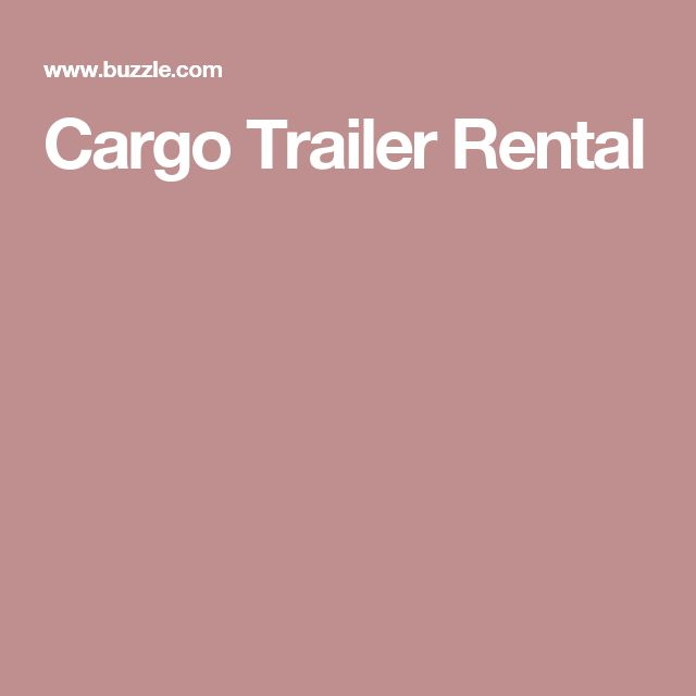 Cargo Trailer Rental - US Trailer would love to lease used trailers in any condition to or from you. Contact USTrailer and let us lease your trailer. Click to http://USTrailer.com or Call 816-795-8484