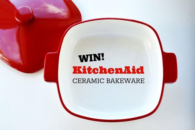 GIVEAWAY: KitchenAid Ceramic Bakeware