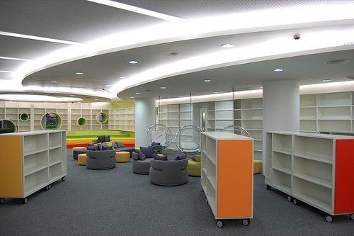 Shelves on wheels
