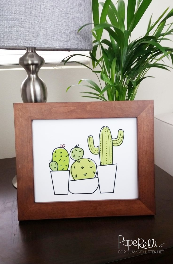Hello friends! It's Courtney from Paperelli and here I am again – ready to share another free printable with you. Seriously, you guys! Aren't cacti adorable? I have been on a major cactus kick lately and I knew I had to design a cactus printable!  Every time I see a cactus it reminds me of Arizona. My family and a huge part of my heart lives in the state of Arizona! This cactus printable is an 8×10″ sized print and designed to be printed on white card stock. I can see it as the an adorable…